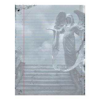 Requiem Goth Notebook Paper Letterhead
