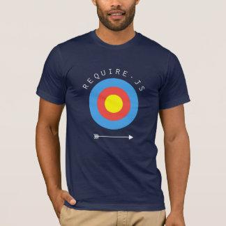 RequireJS T-shirt (Navy)