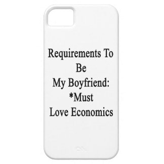 Requirements To Be My Boyfriend Must Love Economic iPhone 5 Covers