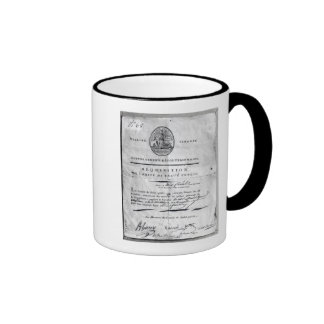 Requisition of the Committee of Public Ringer Coffee Mug
