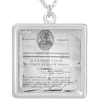 Requisition of the Committee of Public Square Pendant Necklace
