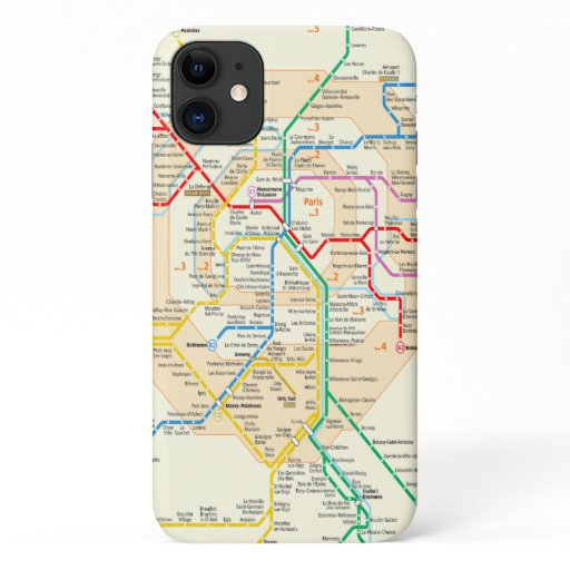 RER paris case phone