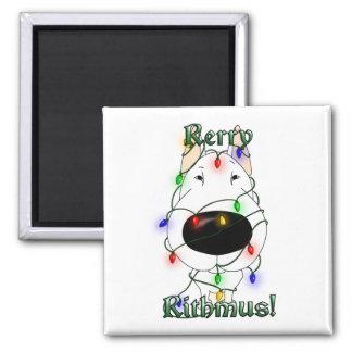 Rerry Rithmus - bull terrier Imanes Para Frigoríficos