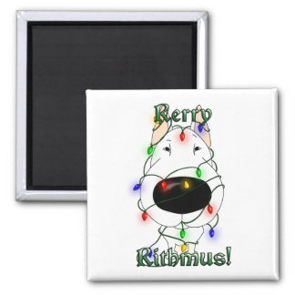 Rerry Rithmus - Bull Terrier Magnets