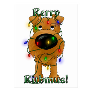 Rerry Rithmus - Irish Terrier Post Cards