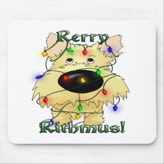 Rerry Rithmus - mojón Terrier Tapetes De Raton