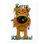Rerry Rithmus - Terrier irlandés Tarjeta Postal