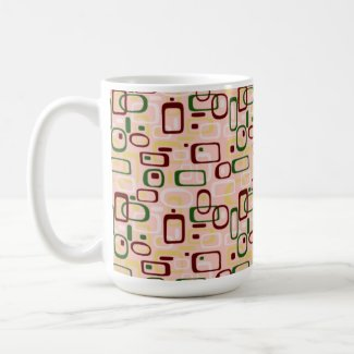 Rertro Bangels Design - Coffee Tea Mug Large mug