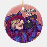 Res0rt pasado ornamento de 2013 días de fiesta - g ornamentos de navidad