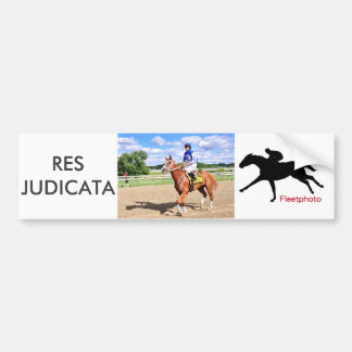 Res Judicata Bumper Sticker