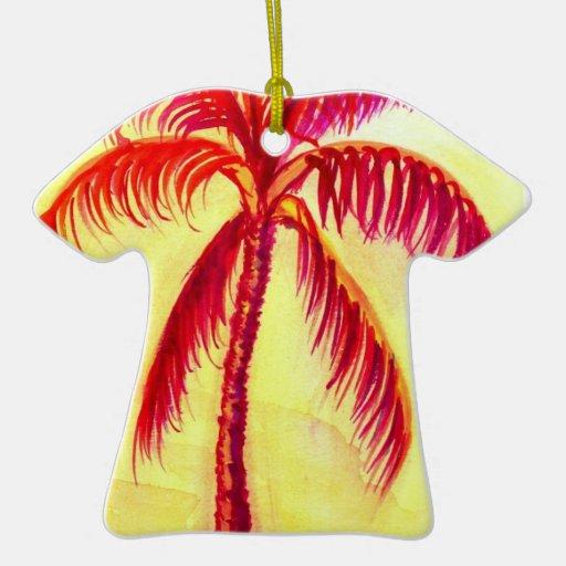 Res palm Christmas Ornament