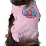 Resaca ascendente - chica de la persona que practi camisas de perritos