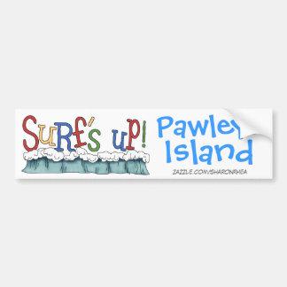 Resaca ascendente - isla de Pawleys por SRF Pegatina Para Auto