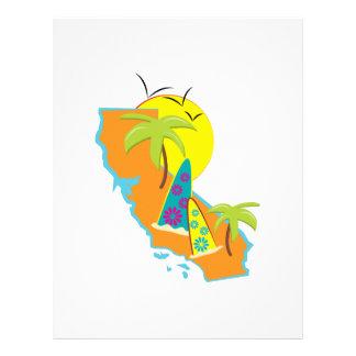 Resaca de California Membrete A Diseño