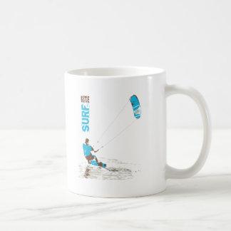 resaca de la cometa taza de café