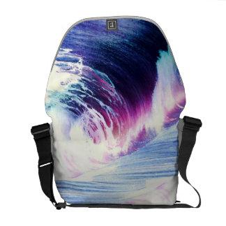 Resaca de la playa bolsa de mensajería