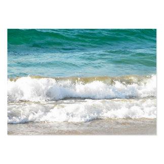 Resaca de la playa de ACEO Tarjetas De Visita Grandes