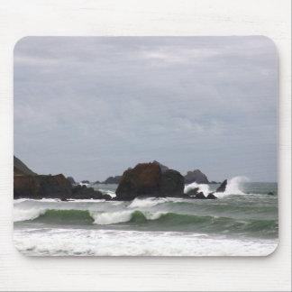 Resaca de la playa de Rockaway Tapetes De Ratón