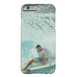 Resaca de la tabla hawaiana de la ola oceánica de funda barely there iPhone 6