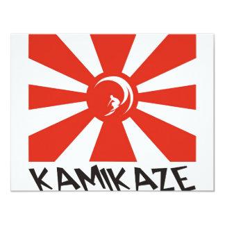 """Resaca del kamikaze invitación 4.25"""" x 5.5"""""""