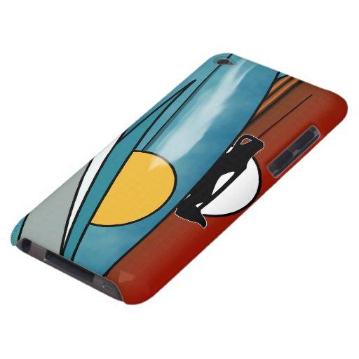 Resaca en el caso de Barely There del tacto de iPo iPod Touch Case-Mate Funda