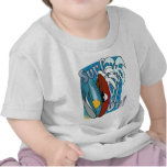Resaca en la camiseta infantil