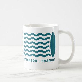 Resaca Hossegor Francia Taza Clásica