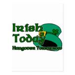 Resaca irlandesa tarjeta postal