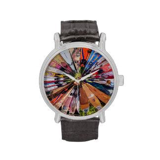 Resaca para arriba relojes de pulsera