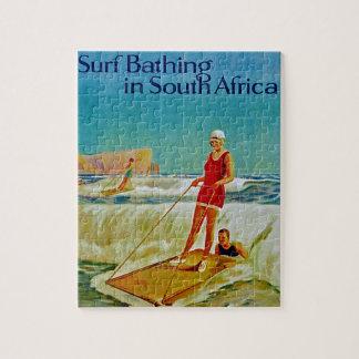 Resaca que se baña en Suráfrica Puzzles