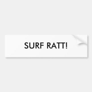 ¡RESACA RATT! Pegatina para el parachoques Pegatina Para Auto