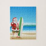 Resaca Santa en la playa Rompecabezas