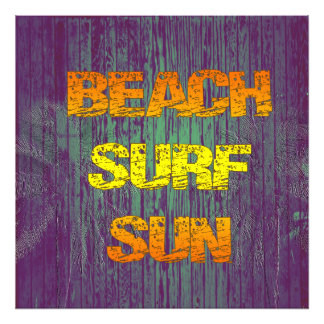 Resaca Sun de la playa