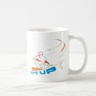 resacas para arriba tazas de café