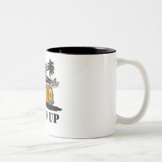 resacas para arriba taza