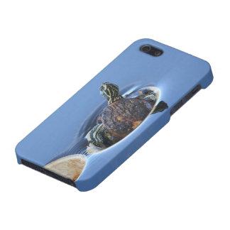Resbalador hinchado amarillo iPhone 5 fundas