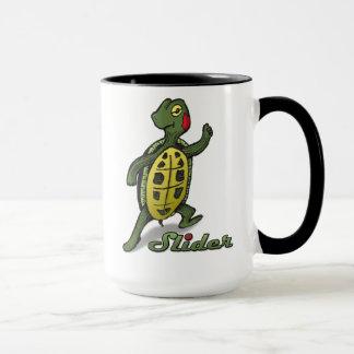 Resbalador la taza de la tortuga
