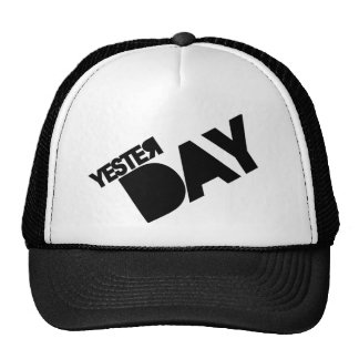 Resbale ayer el gorra