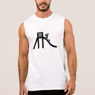 Resbale el patio camiseta sin mangas