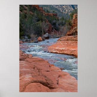 Resbale la roca en Sedona, AZ 3590 Impresiones
