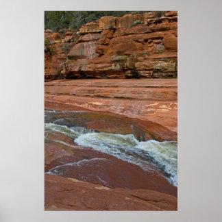 Resbale la roca en Sedona, AZ 3606 Impresiones