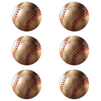 Resbalón de las cubiertas del botón del béisbol paquete pequeño de tapa botones