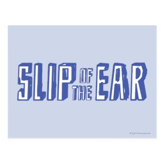 Resbalón del oído postal