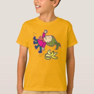 Resbalón en la camiseta de un niño del plátano camisas