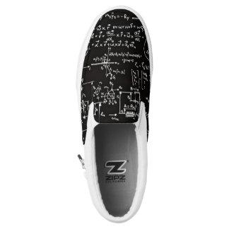 Resbalón Geeky Ons del negro de las matemáticas de Zapatillas
