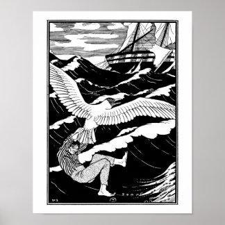 Rescatado por una gaviota gigante poster