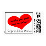 Rescate animal de la ayuda envio
