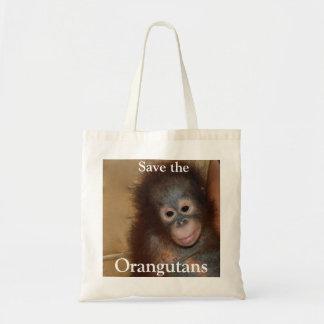 Rescate animal de los bebés bolsas