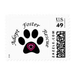 Rescate animal sellos postales