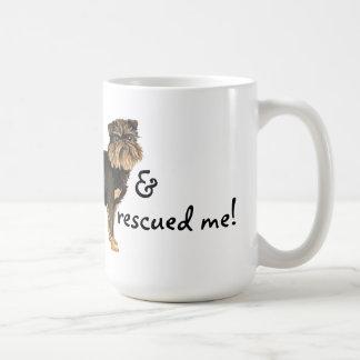 Rescate Bruselas Griffon Tazas De Café
